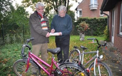 100 Fahrräder für den Reckenfelder Bürgerverein (ReBüVe) gespendet!