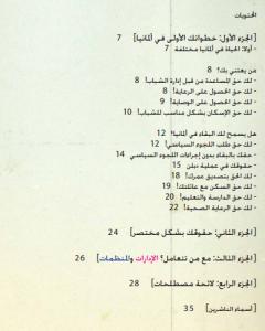 Inhaltsverzeichnis Arabisch
