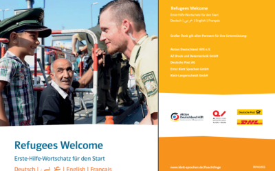 Refugees Welcome To GermanyBienvenue En Allemagne أهلا وسهلا