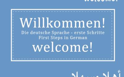 Grundlagen der deutschen Sprache für Flüchtlinge mit Englisch-Kenntnissen