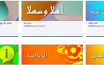 WDRforyou – Angebote für Flüchtlinge in vier Sprachen