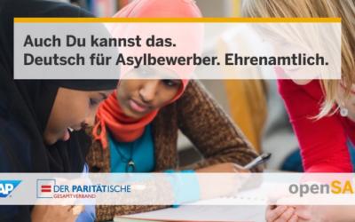 Auch Du kannst das: Deutsch unterrichten (mit kostenloser Online-Unterstützung)!