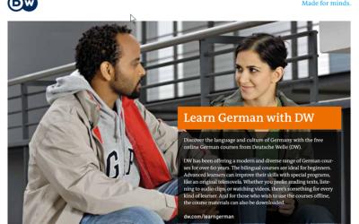 Deutsch lernen mit der Deutschen Welle (DW) – ein umfangreiches Angebot