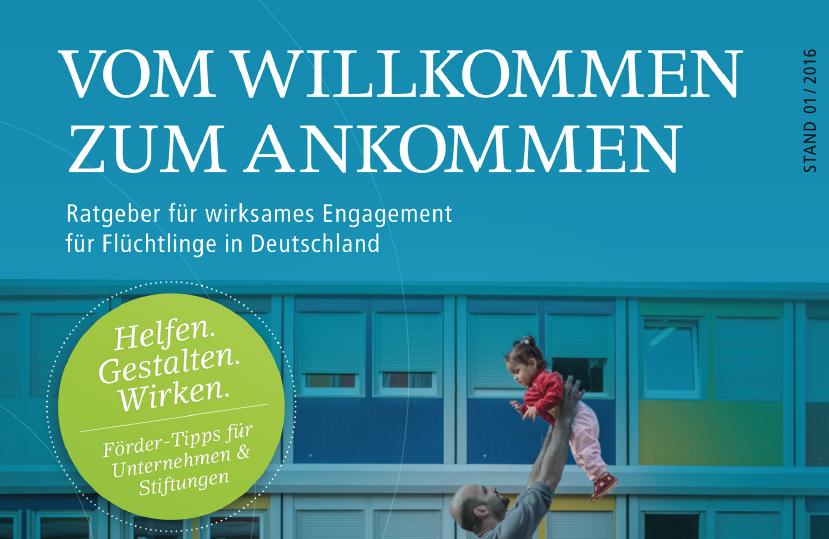Wirksames Engagement von Unternehmen für Flüchtlinge in Deutschland